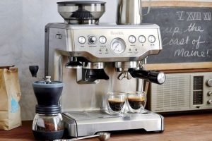 Mua Máy Pha Cafe Breville 870XL Nhập Khẩu Chính Hãng Tại TPHCM
